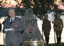 Боевое крещение полковник Пидемский получил на Невском пятачке