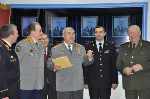 Екатеринбург Официальное мероприятие  Открытие экспозиции в честь столетия ветерана «СМЕРШ» генерала Емельянова.