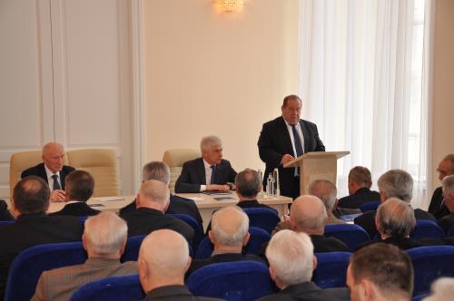 Москва Официальное мероприятие  Отчетное собрание Совета ветеранов