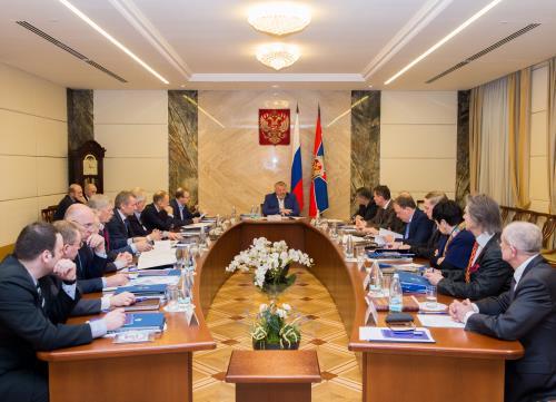 Москва Официальное мероприятие  Заседание Общественного совета при Федеральной службе безопасности Российской Федерации.