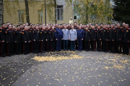 Встреча с воспитанниками Тверского Суворовского военного училища МО РФ