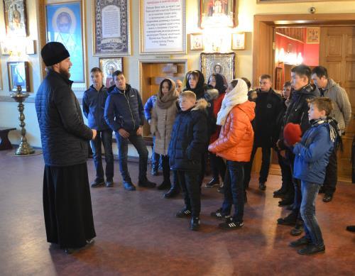 Экскурсия в военный храм великомученика Дмитрия Солунского