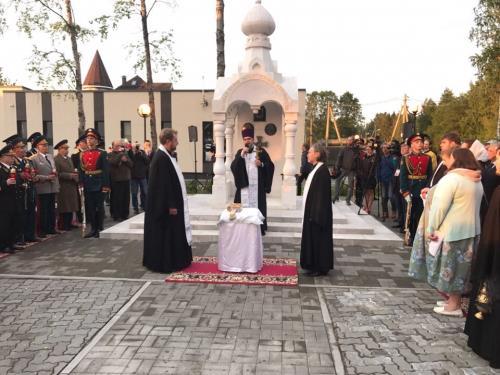 Ветераны военной контрразведки открыли в Ленобласти часовню в память о погибших в ВОВ
