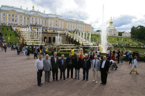 Посещение ветеранами мезеев Санкт-Петербурга