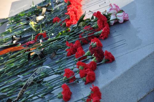 Митинг, посвященный 30-й годовщине вывода ограниченного контингента советских войск из Республики Афганистан.