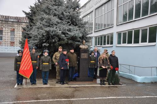 Торжественное открытие бюста Героя Российской Федерации капитана Яцкова И.В.