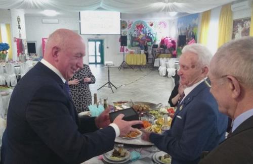 Ветеран контрразведки из Быковского района Волгоградской области отмечает 90-летний юбилей