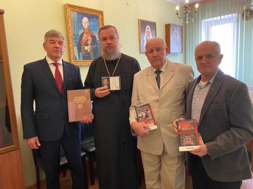 Состоялось совещание по координации взаимодействия Патриаршего подворья и Совета ветеранов военной контрразведки ФСБ России