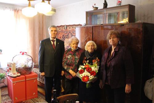 Москва Известие  Ветерану военной контрразведки исполнилось 100 лет!