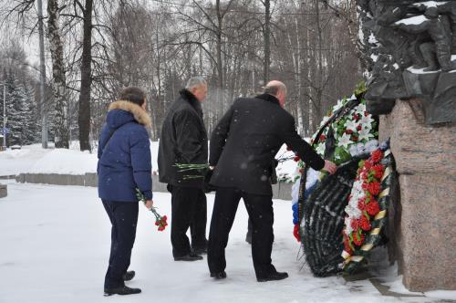 Москва Официальное мероприятие  Встреча ветеранов, посвященная 32-й годовщине вывода войск из ДРА.